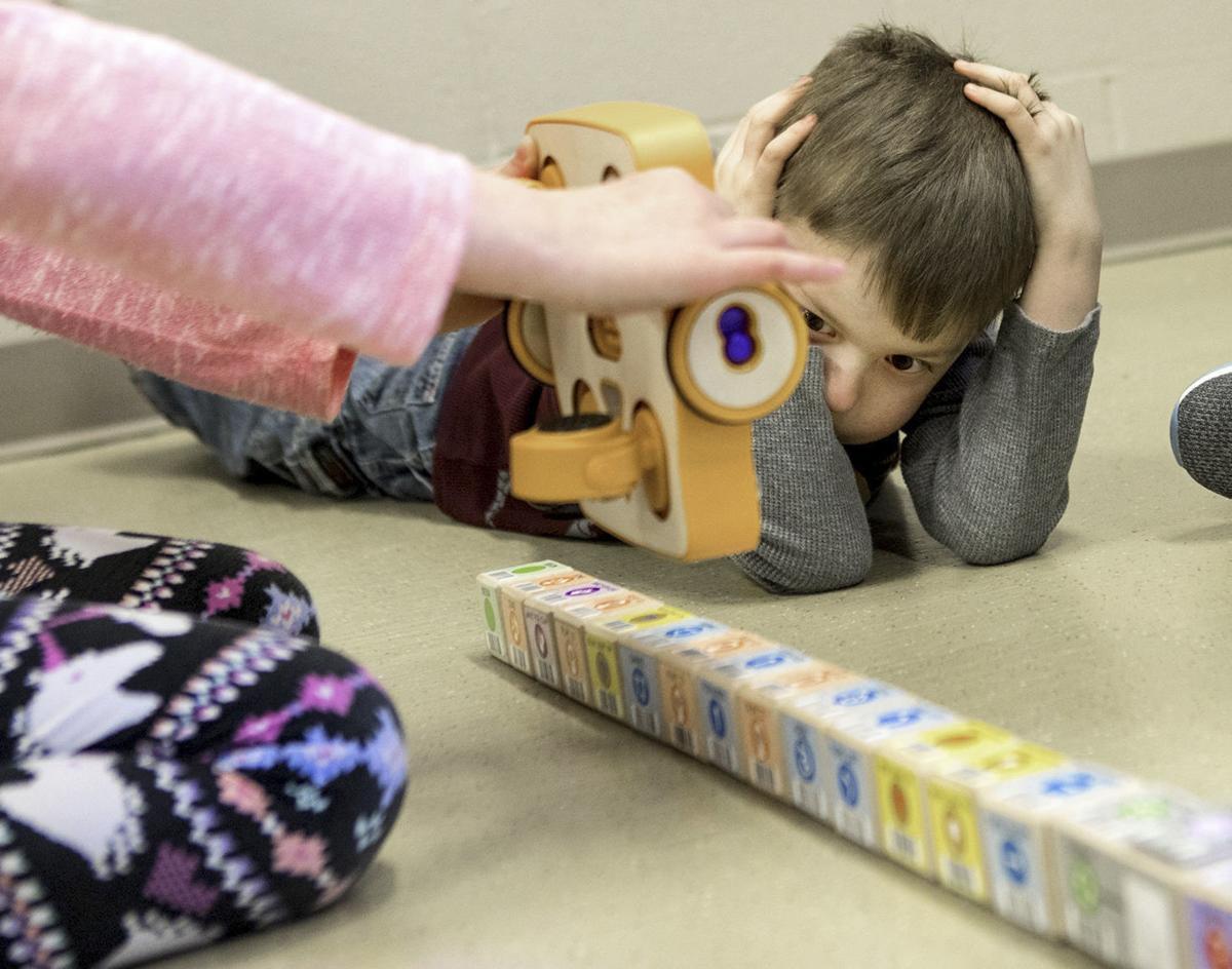 STEM robots with Devon