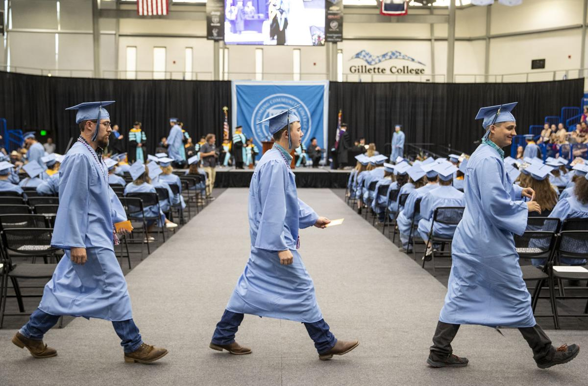 Gillette College graduation