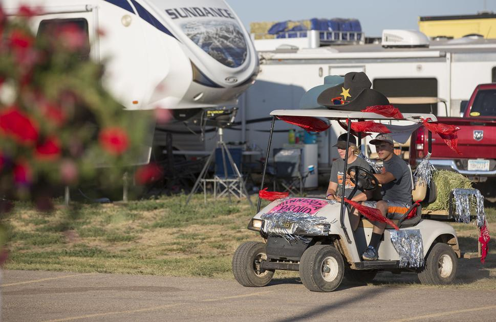 Golf Cart Decorations Show Off State Pride Nhsfr
