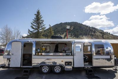 Jackson woman turns old Airstream into rolling lounge | Wyoming
