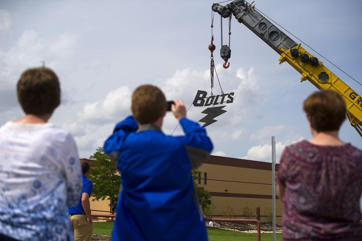 Feel The Thunder Bolt Sculpture Helps Give New High