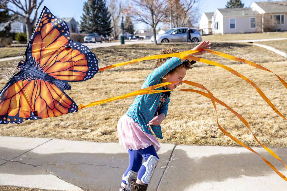 Slowing down, and flying a kite
