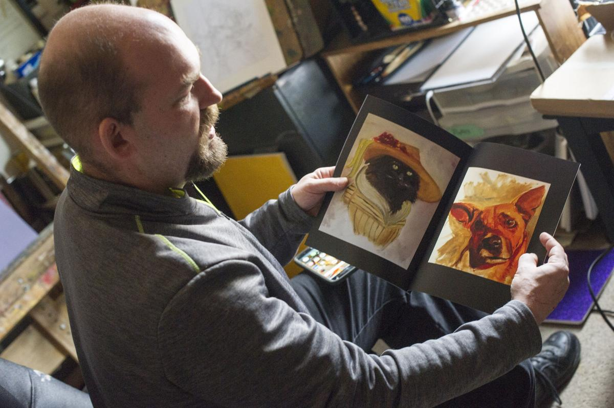 Artist Herb Kalenberg