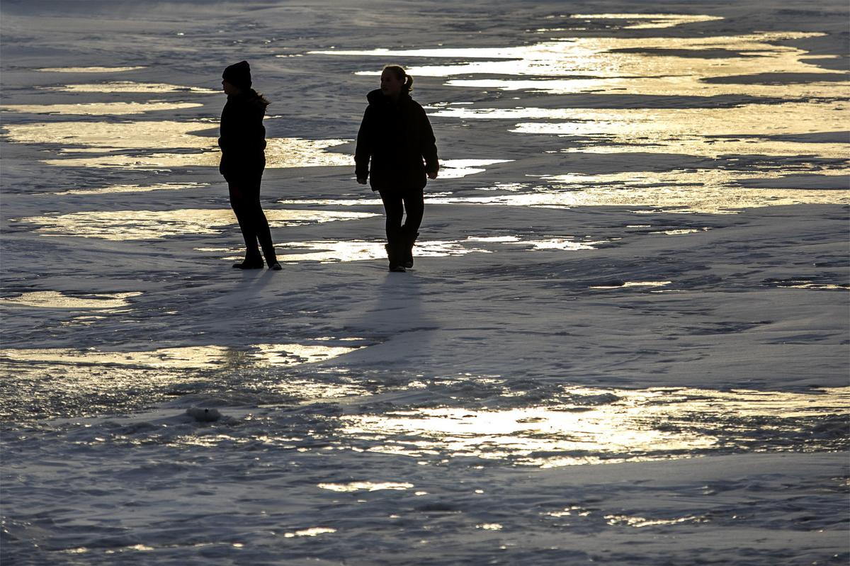 On thick ice