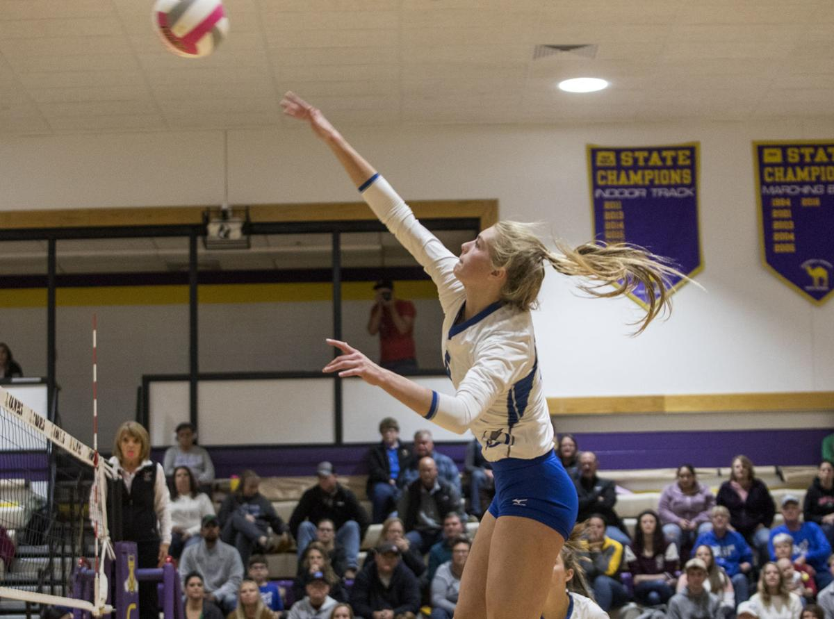 TBHS vs CCHS volleyball 1