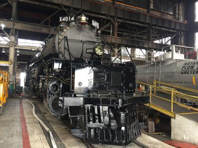 Big Boy steam locomotive almost ready for its big day