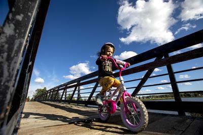 Determined biker