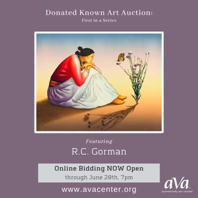 R.C. Gorman print