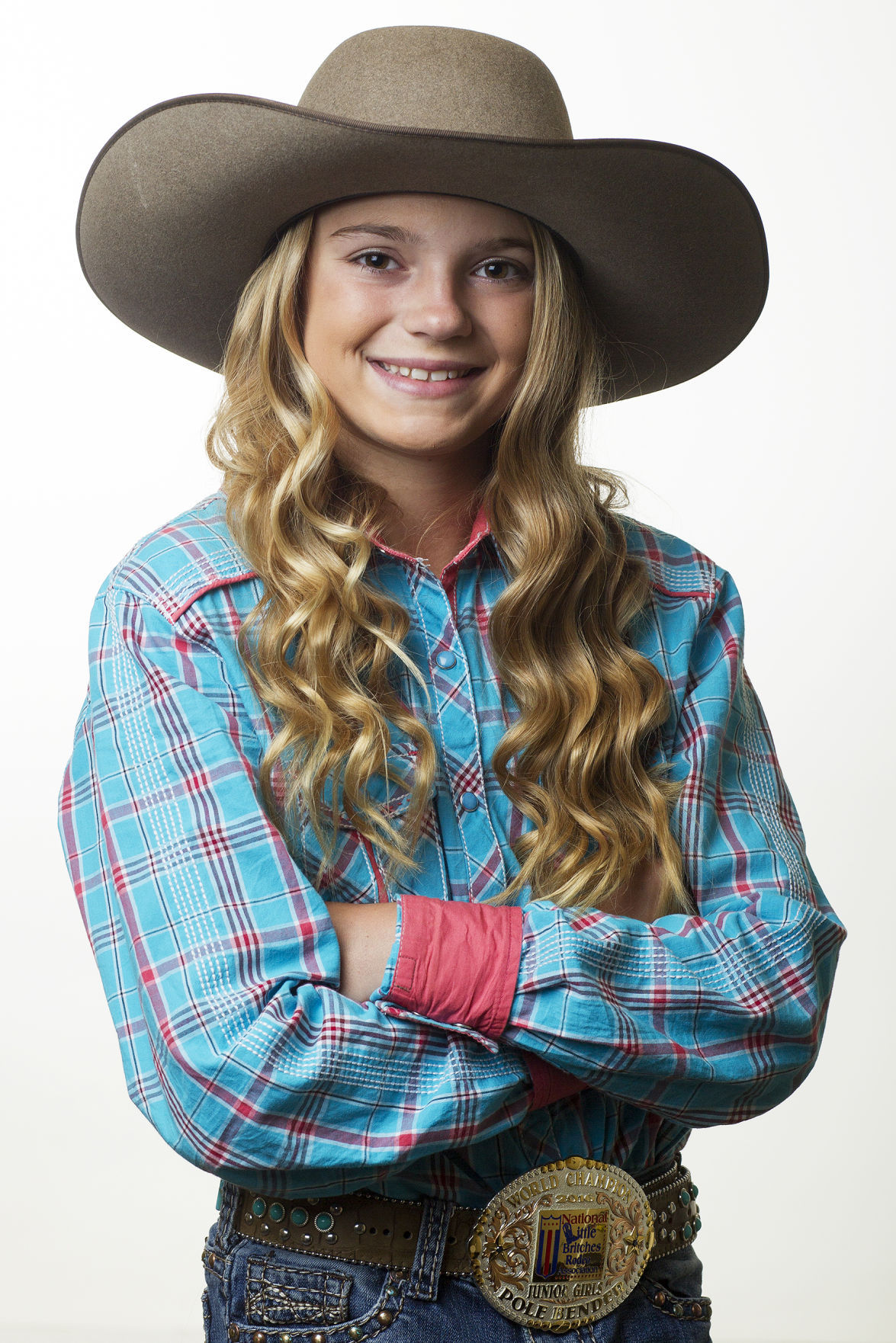 Cowgirl Ashlyn Goven 11 Becomes Two Time World Champion