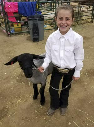 Local girl donates all her livestock earnings to cancer research