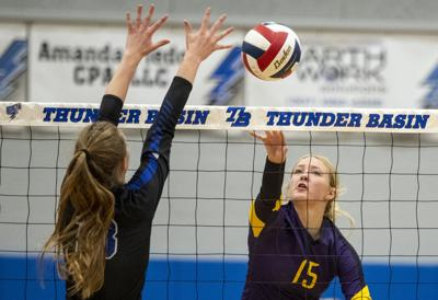 TBHS v CCHS volleyball
