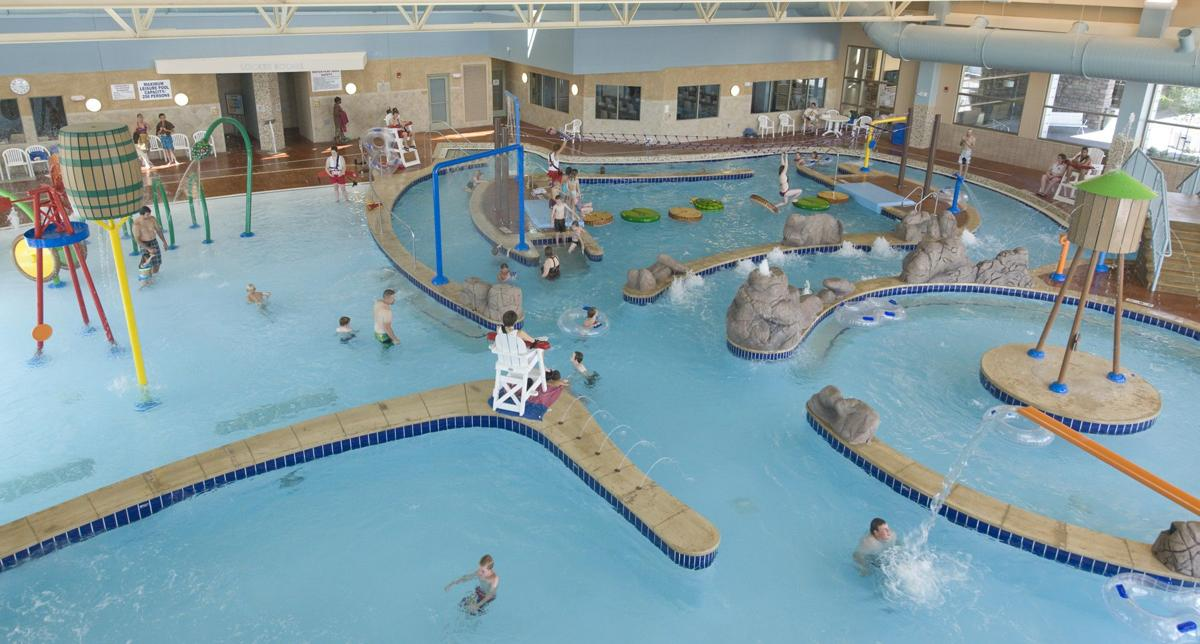 Campbell county recreation center fitness center gym - Campbell community center swimming pool ...