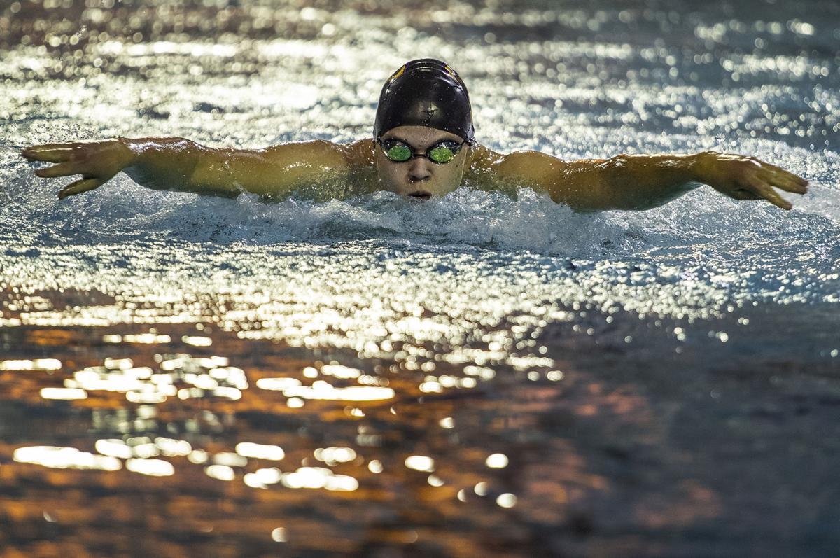 CCHS boys swimming