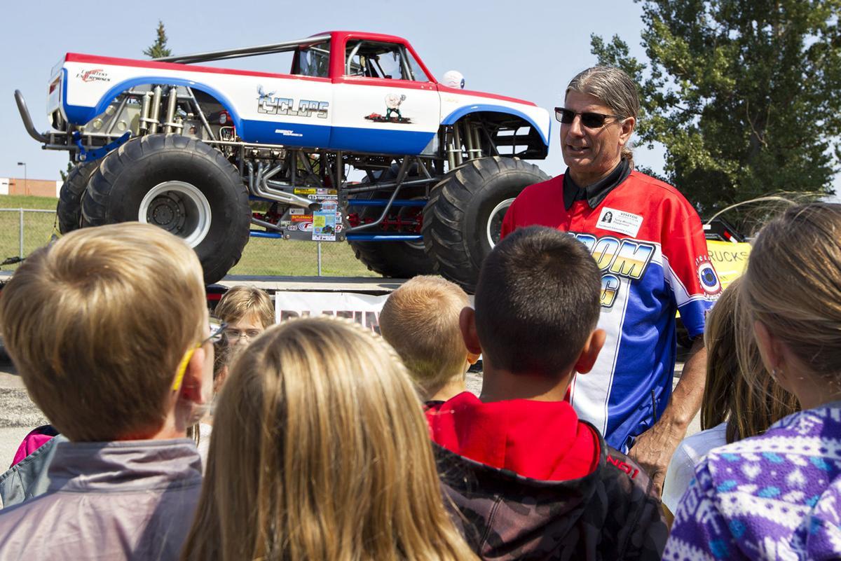 monster truck visits paintbrush news gillettenewsrecord com