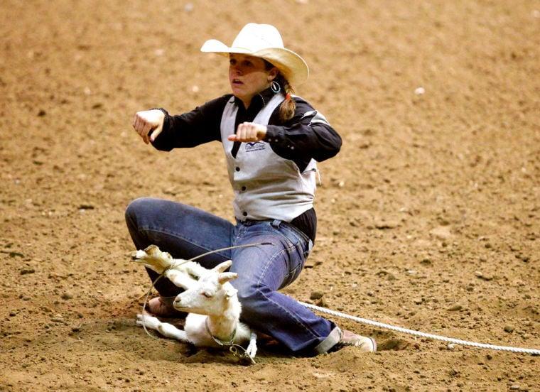 Pronghorn Near Head Of Class In Goat Tying Sports