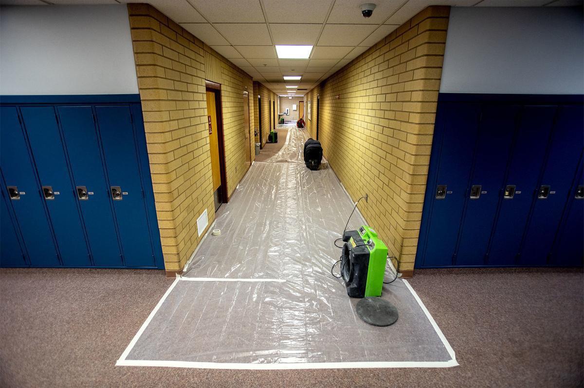 TBHS fire hallway
