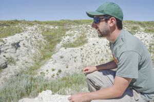 Harvard reps find fossils on university's land near Torrington