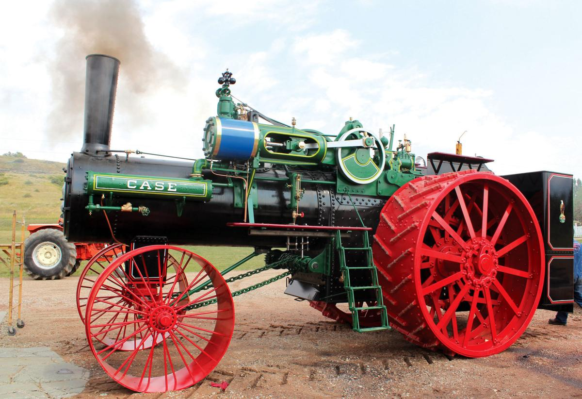 Sheridan man builds replica of world's largest steam tractor