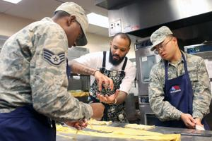 """F.E. Warren AFB hosts former """"Top Chef"""" contestants in friendly competition"""