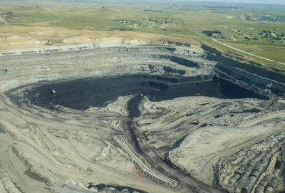 Eagle Butte mine flyover