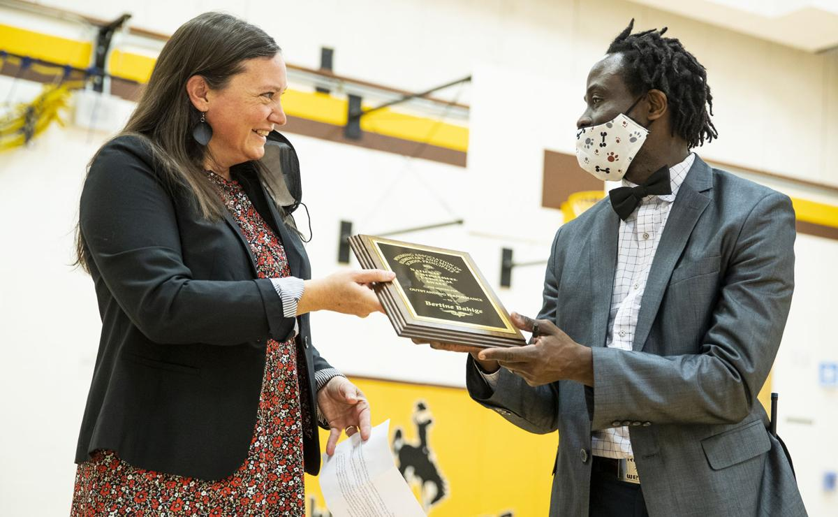 Bertine Bahige named Wyoming National Distinguished Principal
