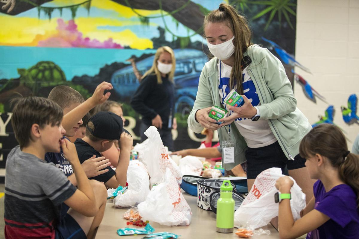 School lunches at the Boys and Girls Club
