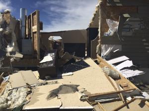 Officials assessing damage from tornado touchdown