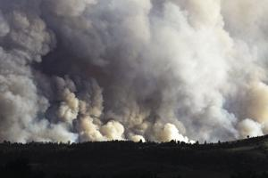 Fire grows to more than 7,000 acres, relief not expected soon