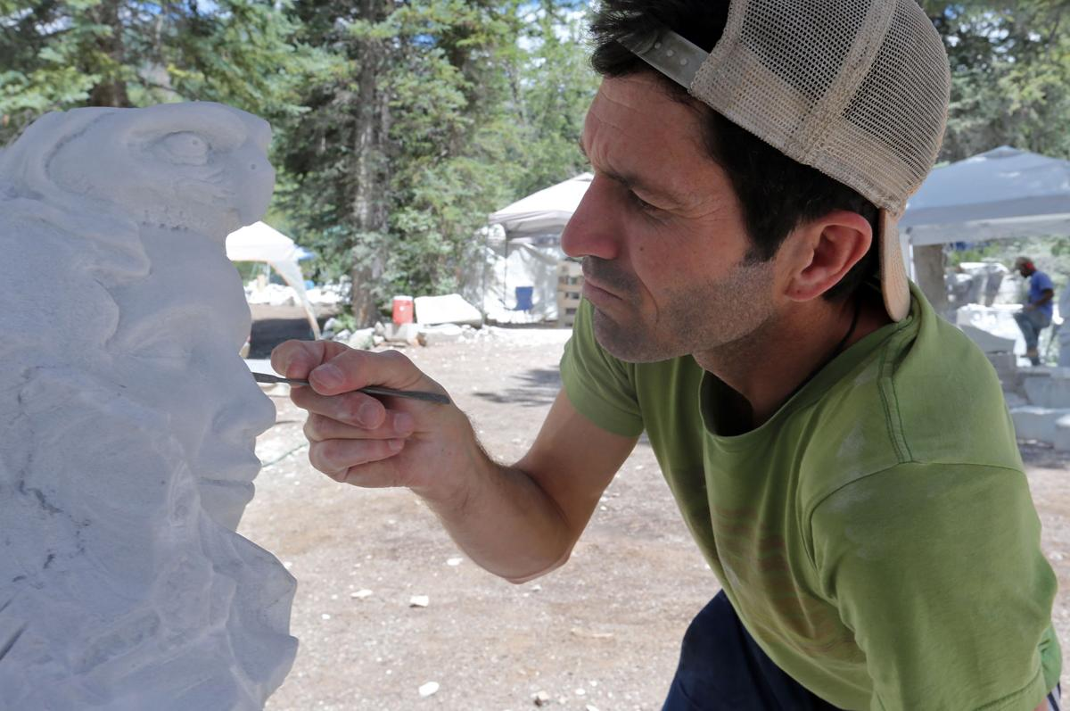 Marble symposium offers rich vein of opportunity for aspiring sculptors