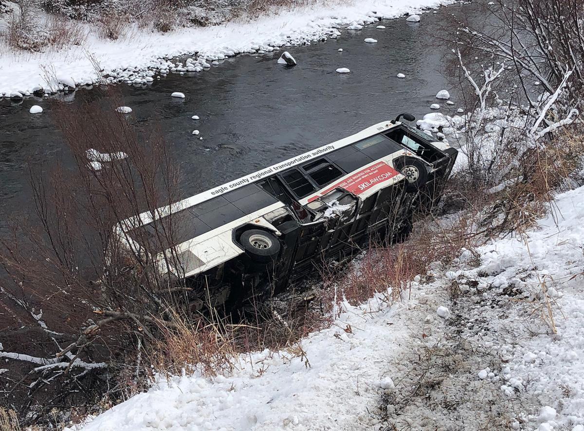 ECO bus crash