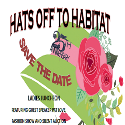 Hats off to Habitat - 25th Anniversary