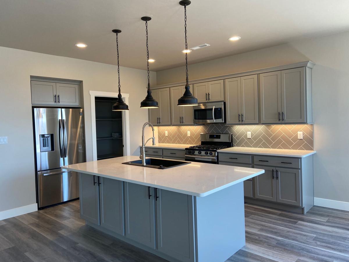 kitchen at Aspen Leaf Innovations home