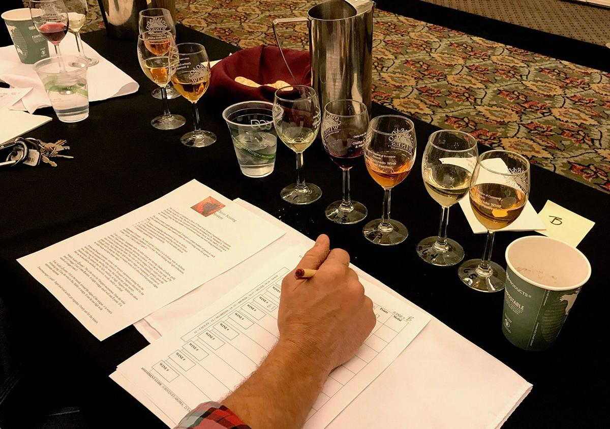 Colorado Amateur Winemaking Competition rising to new heights