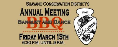 Shavano Conservation Annual Meeting Banquet and Dance