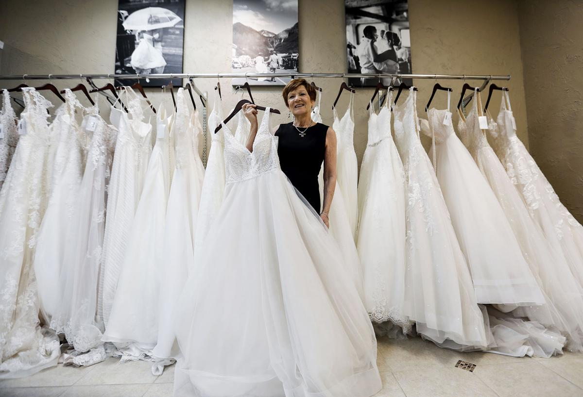 Boutique where brides to be discovered dresses of their for Wedding dresses grand junction co