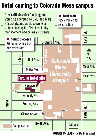 CMU plans $15.7M campus hotel