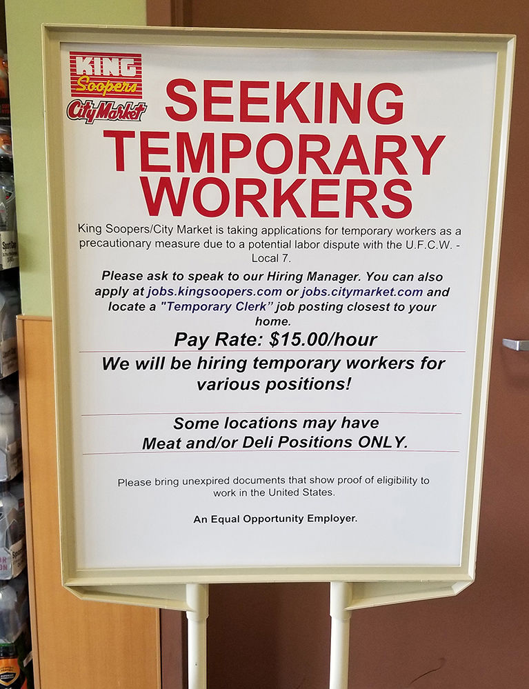 Kroger Union Workers Reject Contract Vote To Authorize Strike