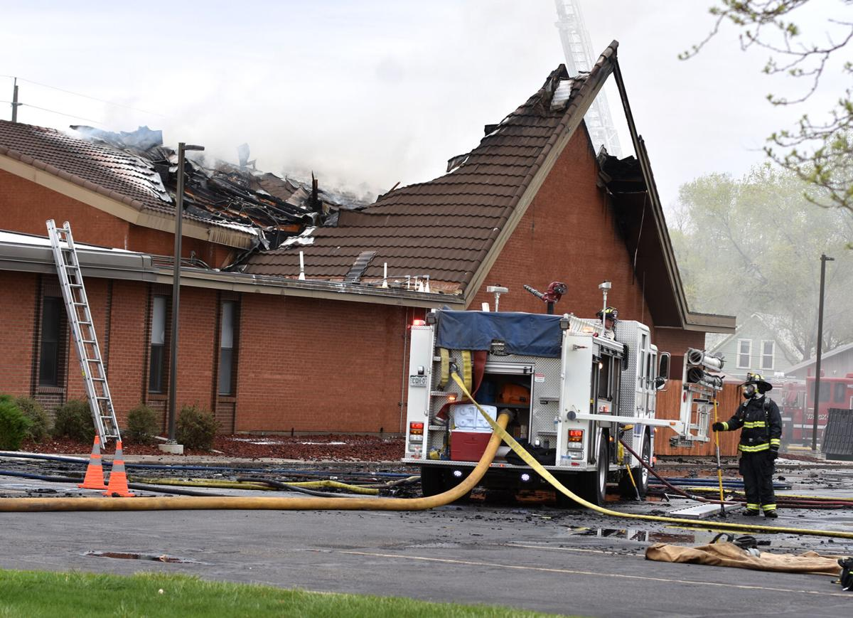 Fruita church fire