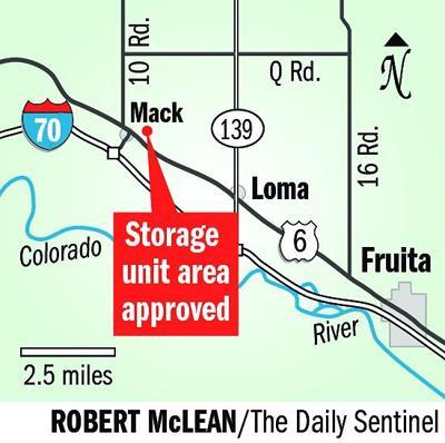 Commissioners OK self-storage business