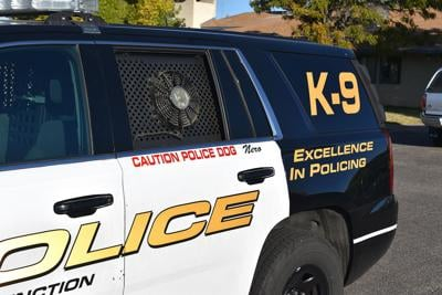 K-9 patrol cars equipped with climate-controlled backseat