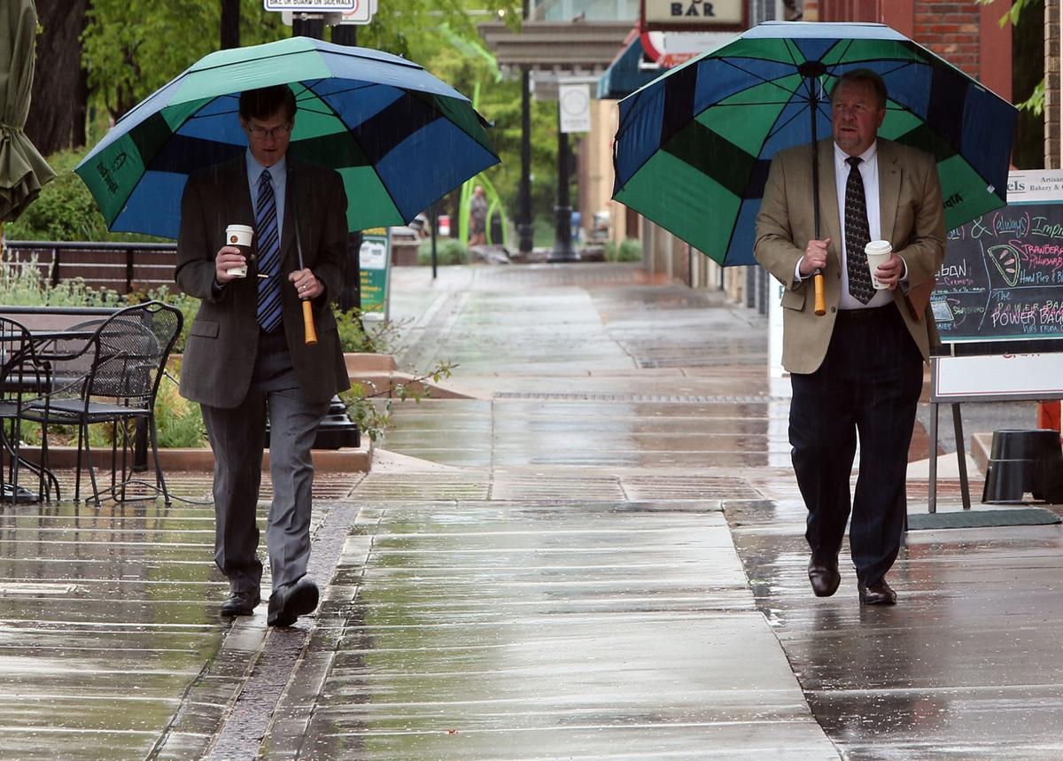 City on record pace for rain