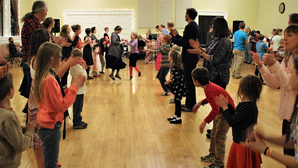 Dance party! Group celebrates 20th anniversary of contra dancing in Grand Valley