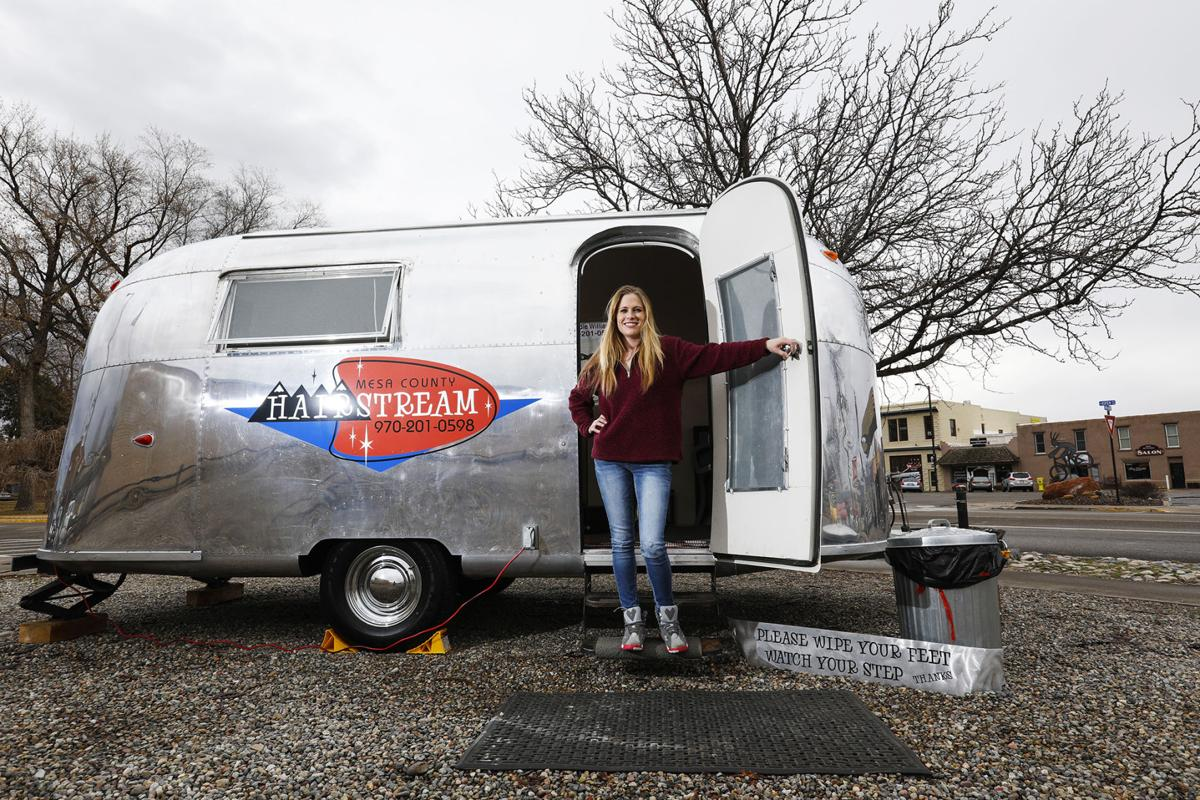 Hair stylist 'Hairstreams' her Fruita business