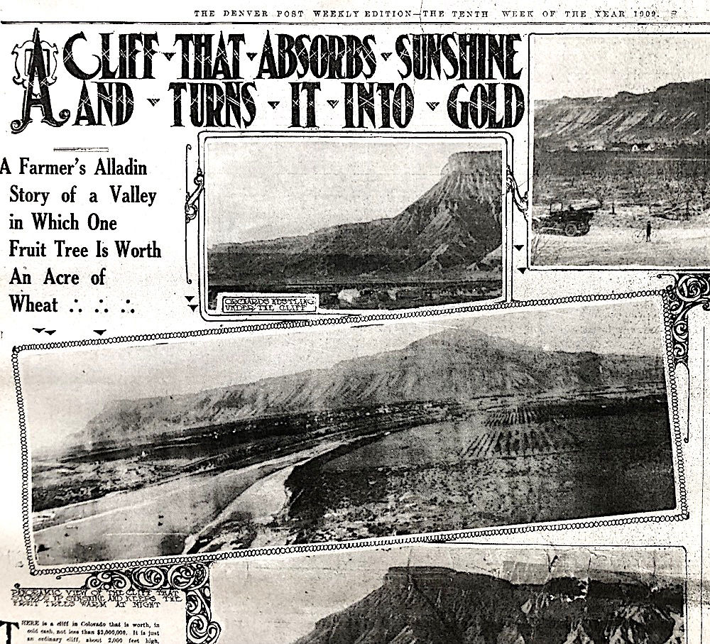 Palisade: A $2 million mountain and peach trees worth fortunes