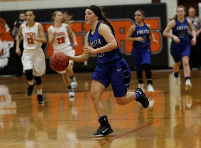 Normally a soccer star, Fruita Monument's Lila Dere succeeding on the hardwood