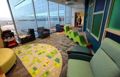 St. Mary's Medical Center remodels its pediatric wing