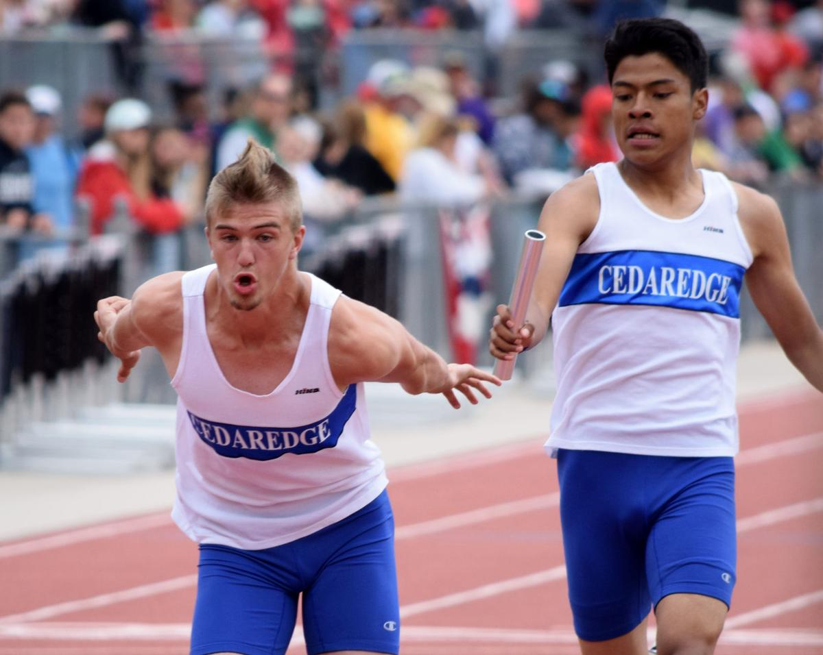 Area relay teams strut their stuff in lower classes at state