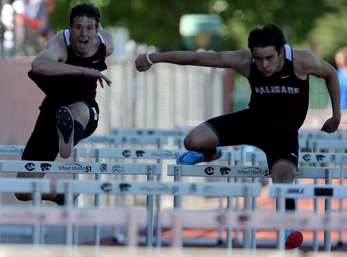 Local track athletes try to trim their times with state championships looming