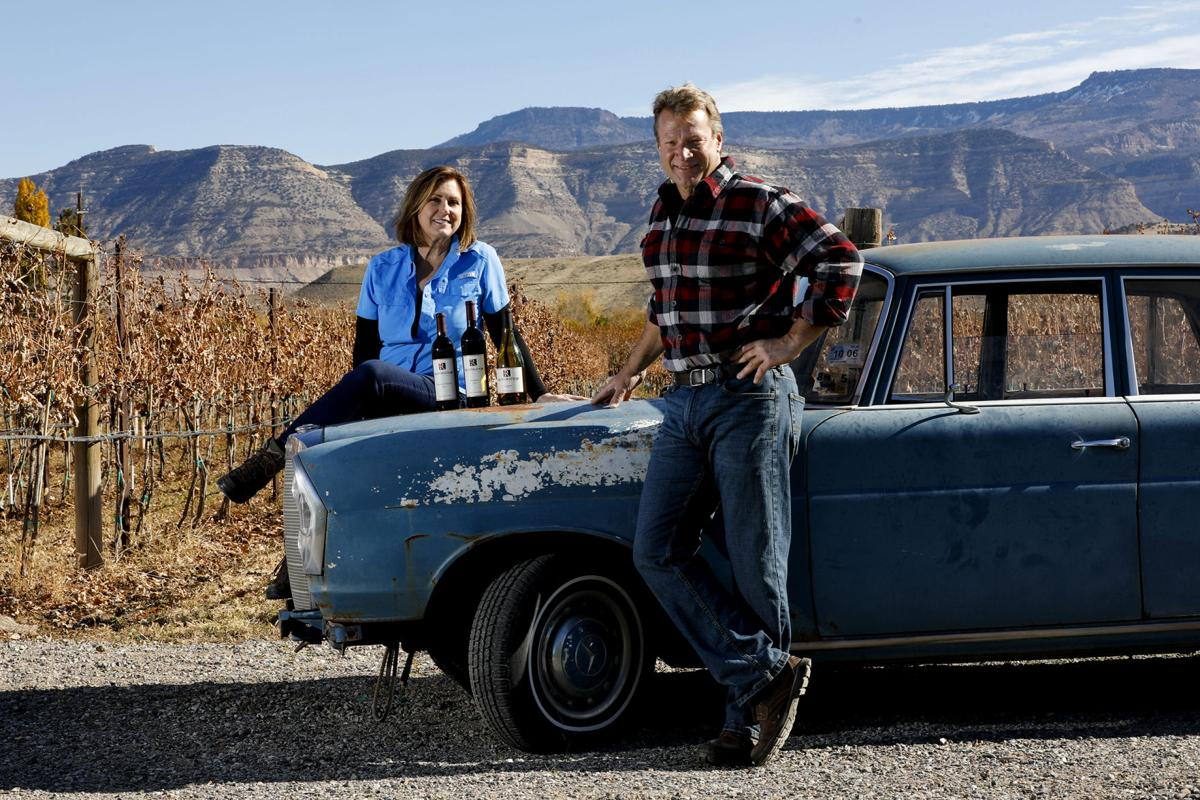 Once home to withering vines, Restoration Vineyards  is Palisade area's newest winery
