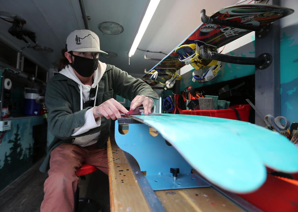 To the rescue: Local man converts ambulance into mobile ski shop